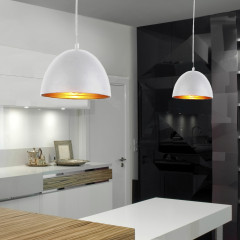 AZzardo Modena 18 White/Gold - Pendant - AZZardo-lighting.co.uk