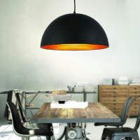 AZzardo Modena 50 Black/Gold - Pendant