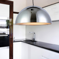AZzardo Modena 50 Chrome - Pendant - AZZardo-lighting.co.uk