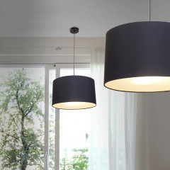 AZzardo Bosse Black - Pendant - AZZardo-lighting.co.uk