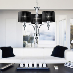AZzardo Impress 3 Black - Pendant - AZZardo-lighting.co.uk