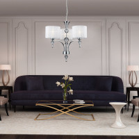 AZzardo Impress 3 White - Pendant