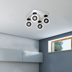 AZzardo Enzo 4 Top - Ceiling - AZZardo-lighting.co.uk