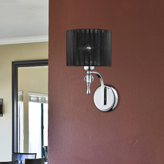 AZzardo Impress Wall Black - Wall lights - AZZardo-lighting.co.uk