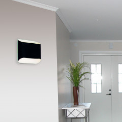 AZzardo Pancake Black - Wall lights - AZZardo-lighting.co.uk