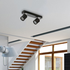 AZzardo Tomi 2 Black - Ceiling - AZZardo-lighting.co.uk