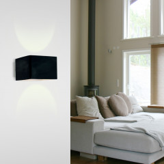 AZzardo Tulip Black - Wall lights - AZZardo-lighting.co.uk