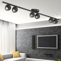 AZzardo Pera 6 Gray - Ceiling