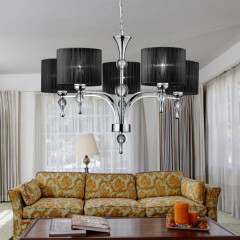 AZzardo Impress 5 Black - Pendant - AZZardo-lighting.co.uk