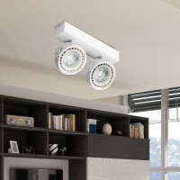 AZzardo Jerry 2 White LED - Ceiling