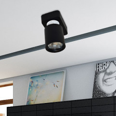 AZzardo Tomi 1 Black - Ceiling - AZZardo-lighting.co.uk