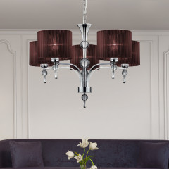 AZzardo Impress 5 Brown - Pendant - AZZardo-lighting.co.uk