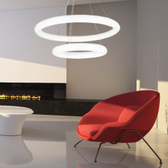 AZzardo Angel 2 Led - Pendant - AZZardo-lighting.co.uk