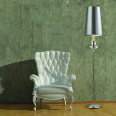 AZzardo Baroco Silver Floor - Stand - AZZardo-lighting.co.uk