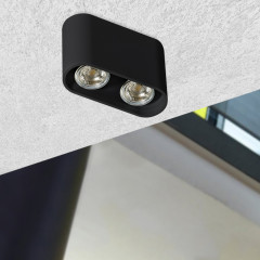 AZzardo Vision Black - Ceiling - AZZardo-lighting.co.uk
