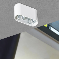 AZzardo Vision White - Ceiling - AZZardo-lighting.co.uk