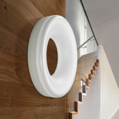 AZzardo Ring White - Ceiling