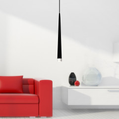 AZzardo Stylo 1 Black - Pendant - AZZardo-lighting.co.uk