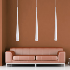 AZzardo Stylo 3 White - Pendant - AZZardo-lighting.co.uk