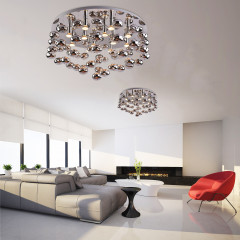 AZzardo Luvia 80 Chrome - Ceiling - AZZardo-lighting.co.uk