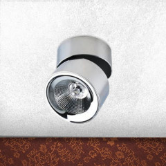 AZzardo Scorpio LED Chrome - Technical surface mounted - AZZardo-lighting.co.uk