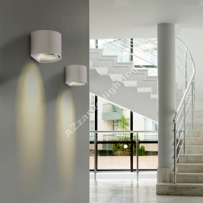 Azzardo leticia 2 white wall lights aloadofball Gallery