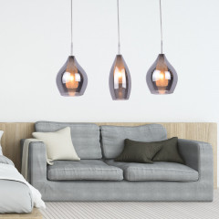 AZzardo Milano Amber 3  - Pendant - AZZardo-lighting.co.uk