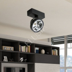 AZzardo Jerry 1 Black 230V - Ceiling - AZZardo-lighting.co.uk