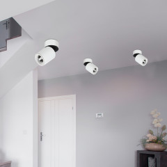 AZzardo Siena 10 3000K White - Technical surface mounted - AZZardo-lighting.co.uk