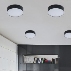 AZzardo Monza R 22 3000K Black - Technical surface mounted - AZZardo-lighting.co.uk