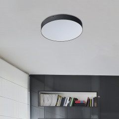 AZzardo Monza R 40 3000K Black - Technical surface mounted - AZZardo-lighting.co.uk