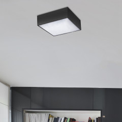 AZzardo Monza S 22 3000K Black - Technical surface mounted - AZZardo-lighting.co.uk