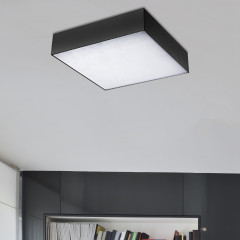 AZzardo Monza S 40 3000K Black - Technical surface mounted - AZZardo-lighting.co.uk