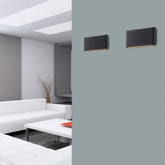AZzardo Cremona M Grey  - Outdoor wall - AZZardo-lighting.co.uk