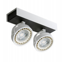 AZzardo Max 2 White/Black LED  - Ceiling