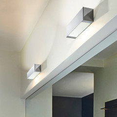 AZzardo Archo 2B Chrome - Wall lights - AZZardo-lighting.co.uk