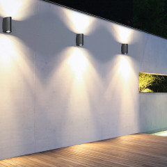 AZzardo Luca Dark Gray - Wall lights - AZZardo-lighting.co.uk
