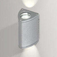 AZzardo Luca Bright Gray - Wall lights