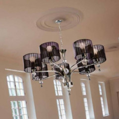AZzardo Impress 7 Black - Pendant - AZZardo-lighting.co.uk