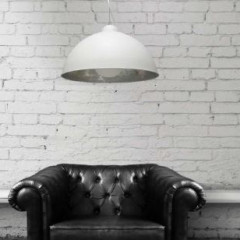 AZzardo Toma White  - Pendant - AZZardo-lighting.co.uk