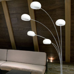 AZzardo Palp White - Stand - AZZardo-lighting.co.uk