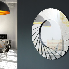 Gaudia Ames - Design mirrors - AZZardo-lighting.co.uk