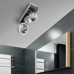 AZzardo Max 2 White/Black 12V - Ceiling - AZZardo-lighting.co.uk