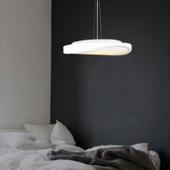 AZzardo Circulo 58 White  - Pendant - AZZardo-lighting.co.uk